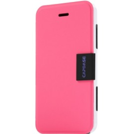 Capdase Flip Cover for iPhone 5 / 5S(Pink & White)
