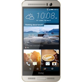 HTC One M9+ Silver  and Gold