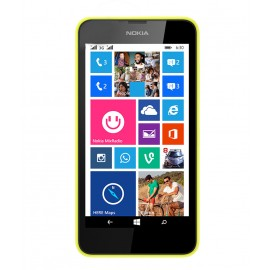 Nokia Lumia 630 Dual Sim(Bright Yellow, 8 GB)
