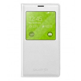 Samsung Flip Cover for Samsung Galaxy S5(white)