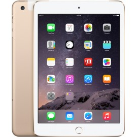 Apple iPad Mini 3 Wi-Fi + Cellular 16 GB Tablet-Gold